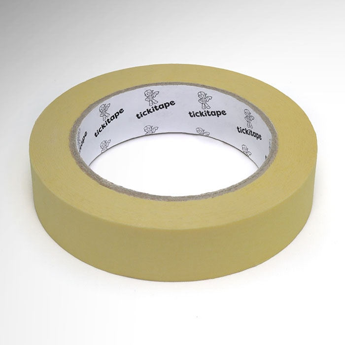 AS206 Automotive low bake crepe paper masking tape 80⁰