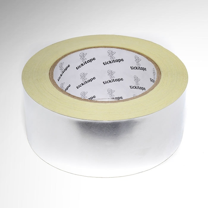 AS291 Self adhesive aluminium foil tape with liner 30 micron