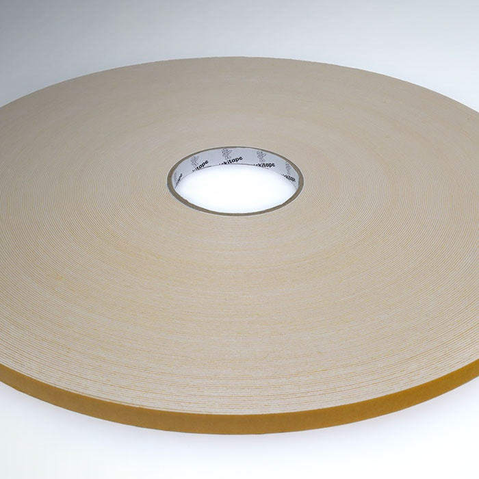 AS344 Double sided PE, polyethylene white foam tape hot melt adhesive 2mm thick