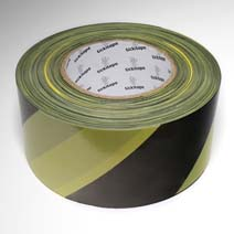 AS241 Premium Hazard warning barrier tape non adhesive