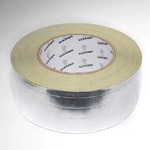 AS255 Reinforced self adhesive aluminium foil tape with liner, FSK