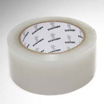 AS430 Clear polythene Greenhouse Polytunnel dance floor repair tape 50mm x 50M